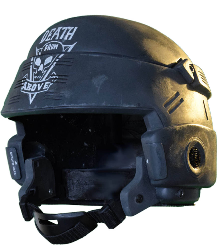 starship troopers helmet
